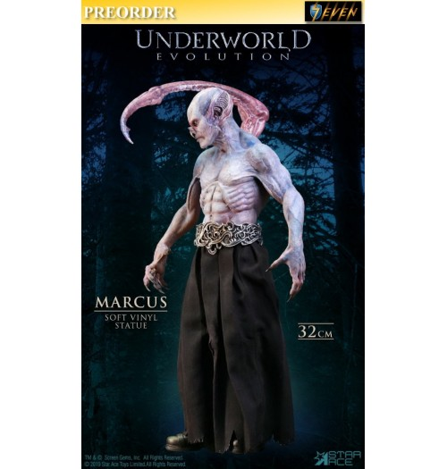 PREORDER: Star Ace: 32cm Underworld Evolution - Marcus (Normal Version): Soft Vinyl Statue: Boxset