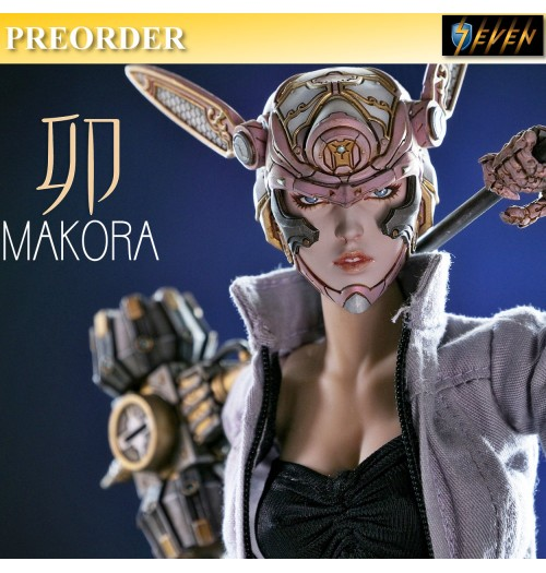 PREORDER: Studio Sundowner 1/6 Makora Box Set