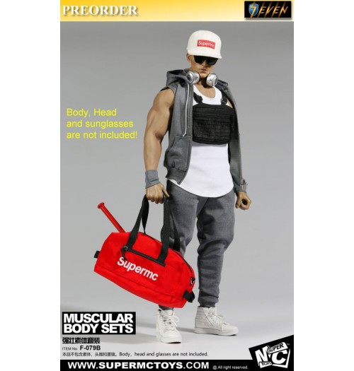 PREORDER: Super MC Toys 1/6 F-079A Muscular Body Fashion: Sets B