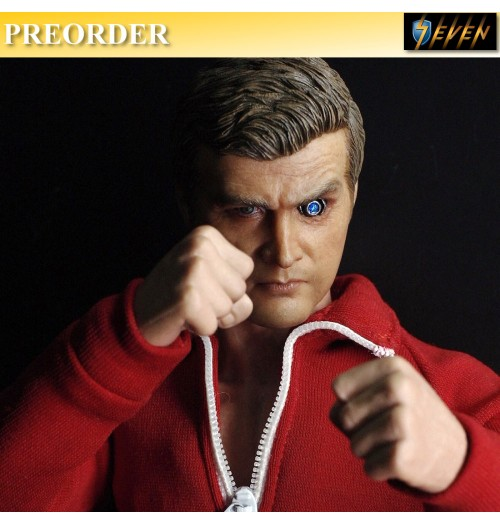 PREORDER: Supermad Toys 1/6 The Six Million Bionic Man Boxset (with Bionic Head)