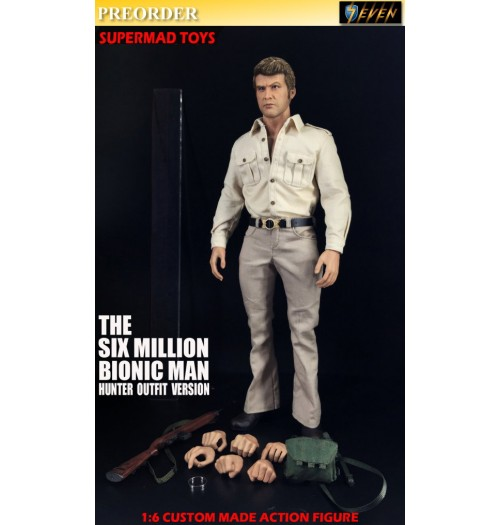 PREORDER: Supermad Toys 1/6 Six Million Bionic Man (Hunter Outfit Version): Boxset