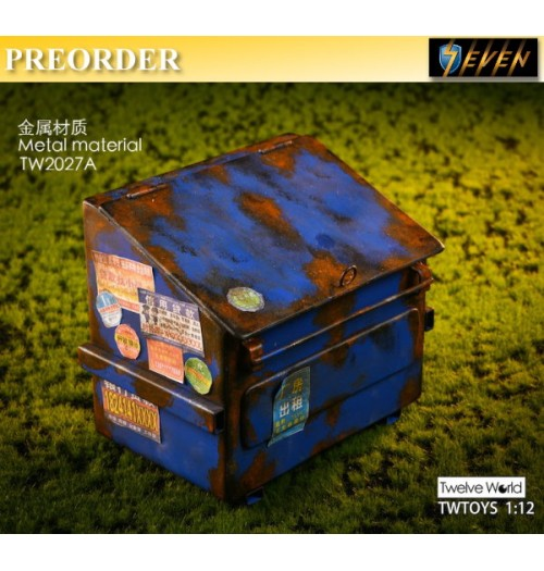 PREORDER: TWToys 1/12 TW2027A The trash: Set A