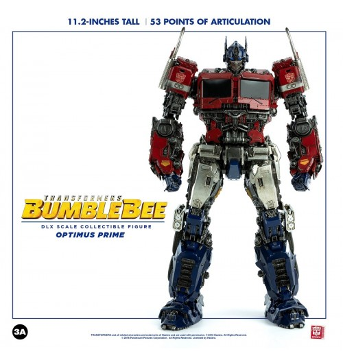 "ThreeZero Transformers - 11.2"" Optimus Prime DLX Scale Boxset"