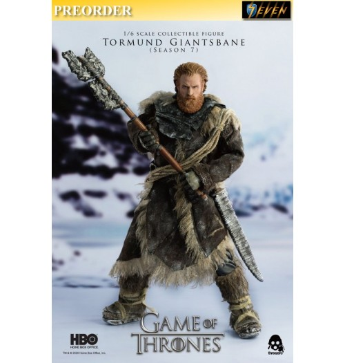 PREORDER: Threezero 1/6 Game of Thrones – Tormund Giantsbane: Boxset