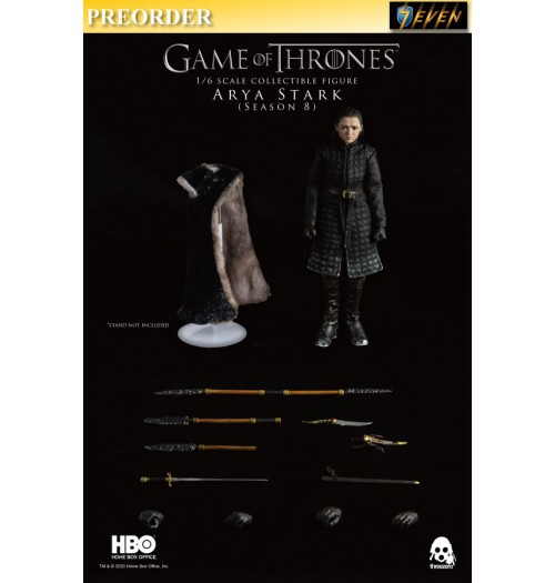 PREORDER: Threezero 1/6 Game of Thrones - Arya Stark (Season 8) Retail: Boxset