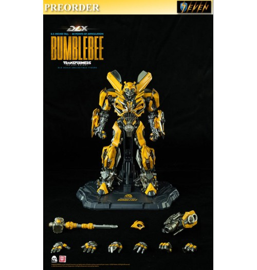 PREORDER: Threezero DLX scale Transformers: The Last Knight - Bumblebee: Boxset