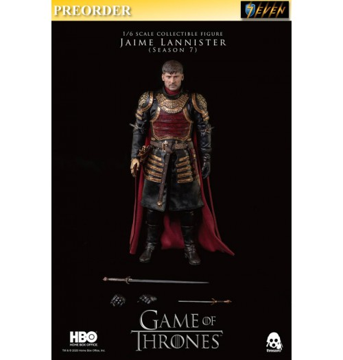 PREORDER: Threezero 1/6 Game of Thrones - Jaime Lannister (Season 7) Retail: Boxset