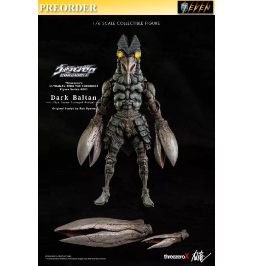 PREORDER: Threezero x Ryu Oyama: 1/6 Dark Baltan(Retail)