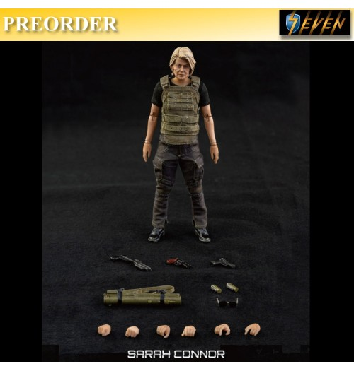 PREORDER: Threezero 1/12 Terminator - Dark Fate Sarah Connor(Retail)