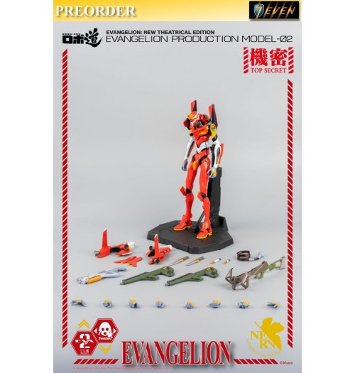 "PREORDER: Threezero 9.8"" ROBO-DOU Evangelion Production Model-02: Boxset"