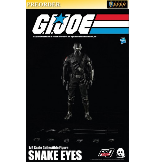 PREORDER: Threezero 1/6 G.I. Joe - Snake Eyes (Retail): Set