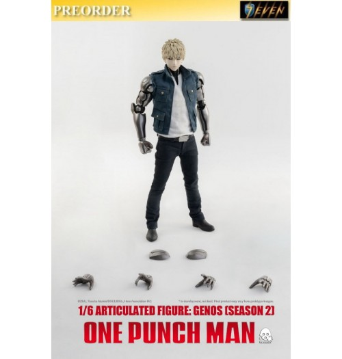 PREORDER: Threezero 1/6 One-Punch Man - Genos Season 2 (Standard): Boxset