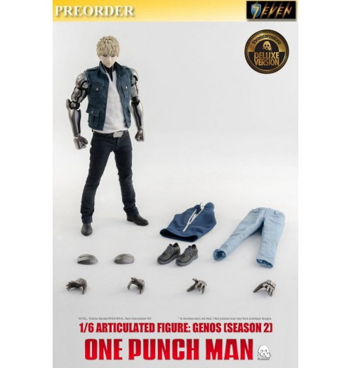 PREORDER: Threezero 1/6 One-Punch Man - Genos Season 2 (Deluxe): Boxset