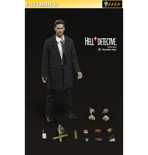 PREORDER: Thunder Toys 1/6 Hell Detective (Normal): Boxset