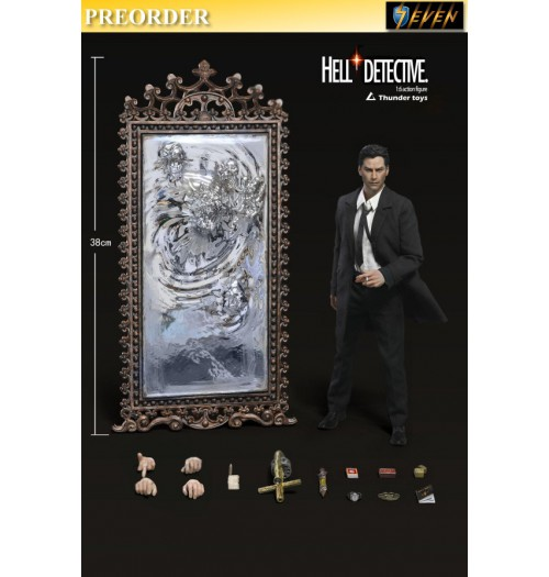PREORDER: Thunder Toys 1/6 Hell Detective (Deluxe): Boxset