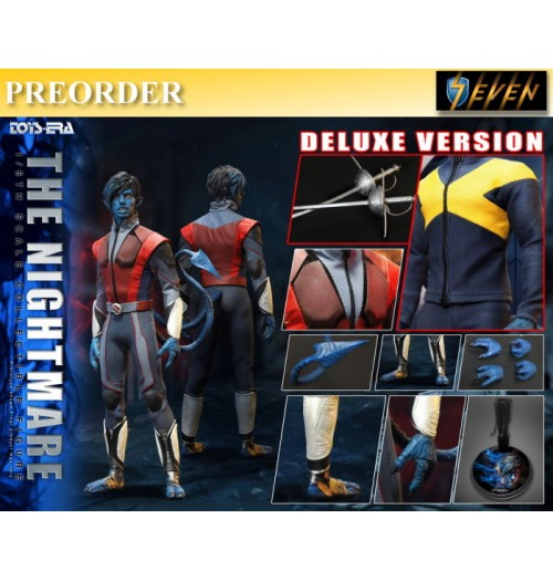 PREORDER: Toys Era 1/6 The ultimate combat suit - Blue Devil: Deluxe Boxset