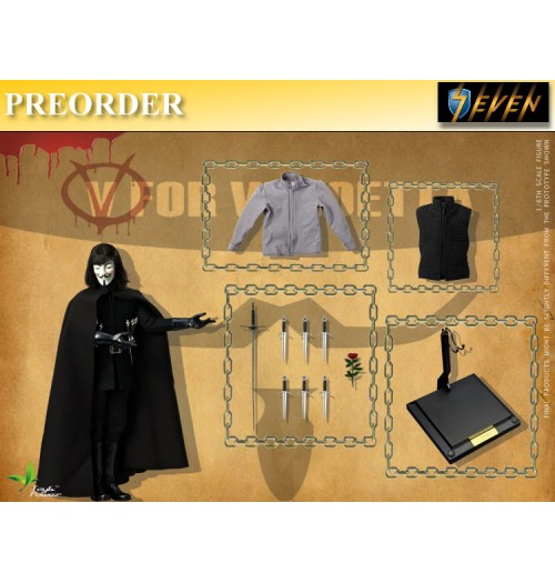 PREORDER: Toyspower 1/6 V for VENDETTA 2.0: Boxset