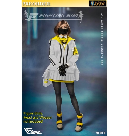 PREORDER: VF TOYS 1/6 Fighting Girl Clothing: White Set