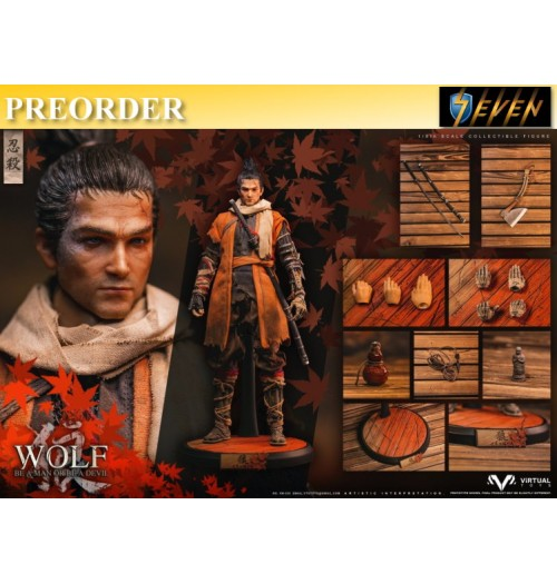 PREORDER: Virtual Toys VTS 1/6 VM-030 The wolf of Ashina (Normal Edition): Boxset