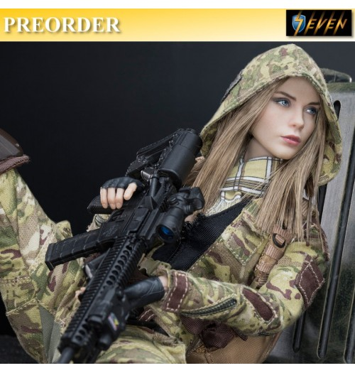 PREORDER: Verycool 1/6 MC Camouflage Women Soldier Villa Box Set