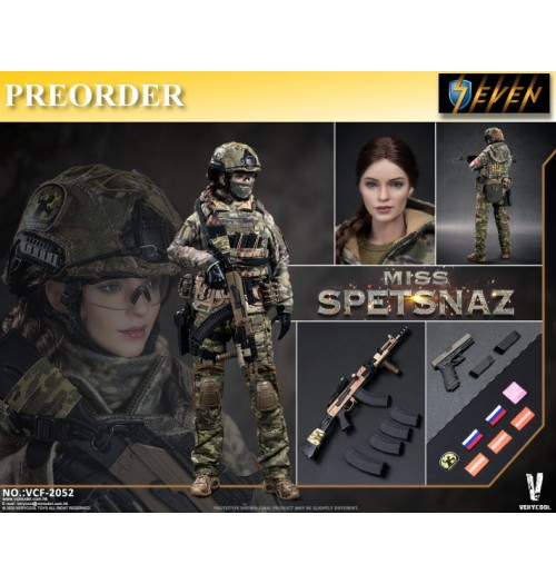 PREORDER: Verycool 1/6 VCF2052 Russian Special Combat Woman Soldier: Boxset