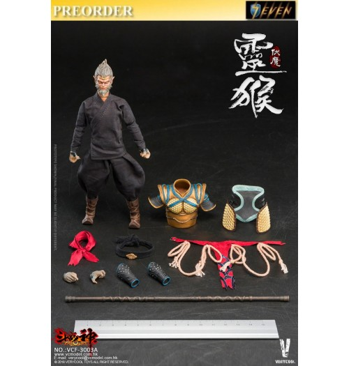 PREORDER: Verycool 1/12 Palm Treasure Series - Dou Zhan Shen - Monkey King: Boxset
