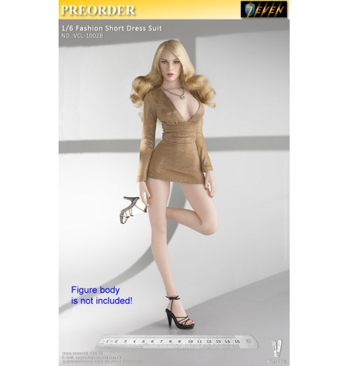 PREORDER: Verycool 1/6 VCL-1002B Accessories Series: Fashion Short Dress Suit B