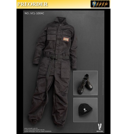PREORDER: Verycool 1/6 VCL-1004C Work-Wear (Black): Set