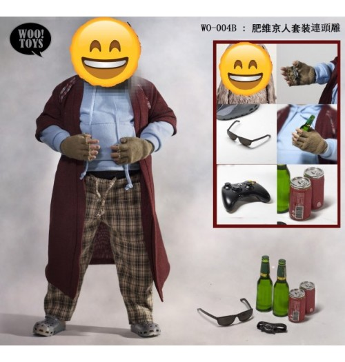 PREORDER: Woo Toys: 1/6 Fat Viking Cloth and Headsculpt: Set