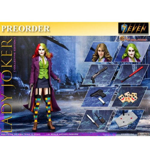 PREORDER: Wolfking 1/6 WK89025A Lady Joker: Boxset