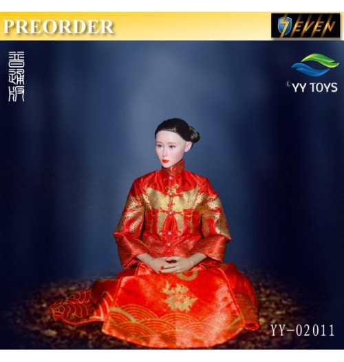 PREORDER: YY Toys 1/6 YY-02012 Zombies Bride Normal version: Boxset